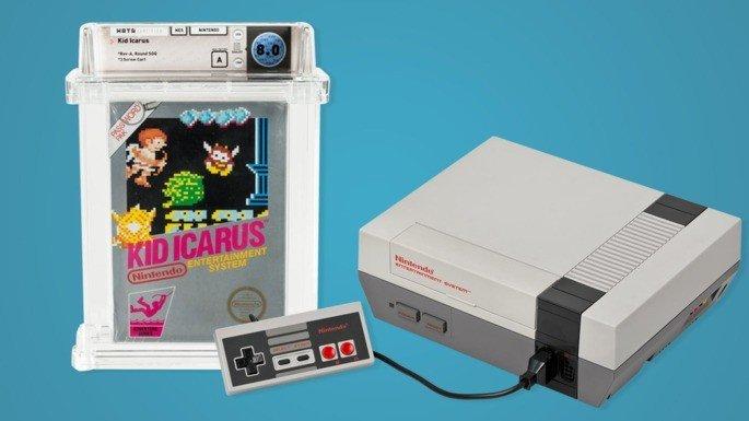 Kid Icarus NES 8 mil euros