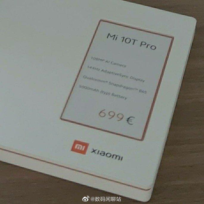 Xiaomi Mi 10T Pro preço