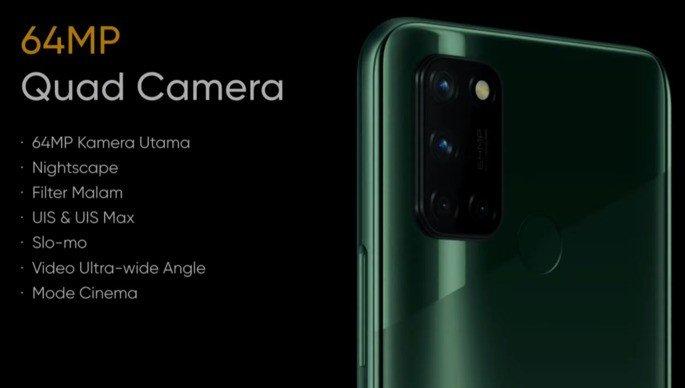 Realme 7i câmaras