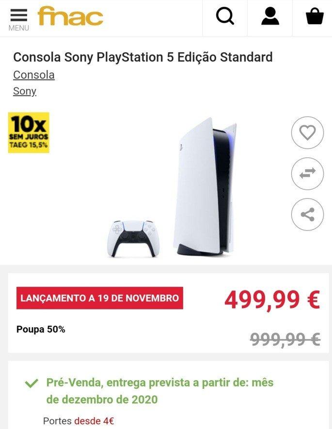 PlayStation 5 PS5 Fnac