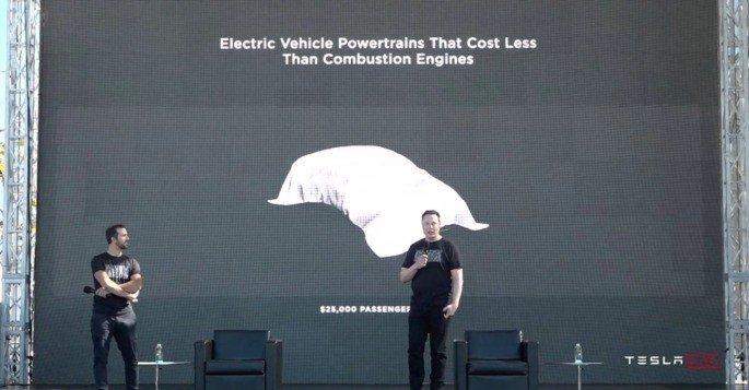 Tesla Carro Elétrico 25 mil dólares
