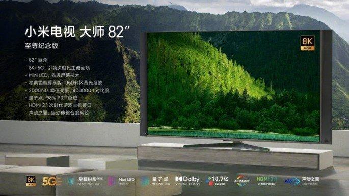 Xiaomi Mi TV Lux 82 8K