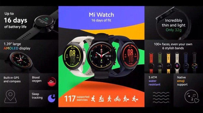 Xiaomi Mi Watch Portugal