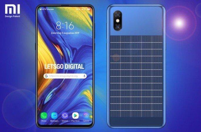 Xiaomi painel solar patente