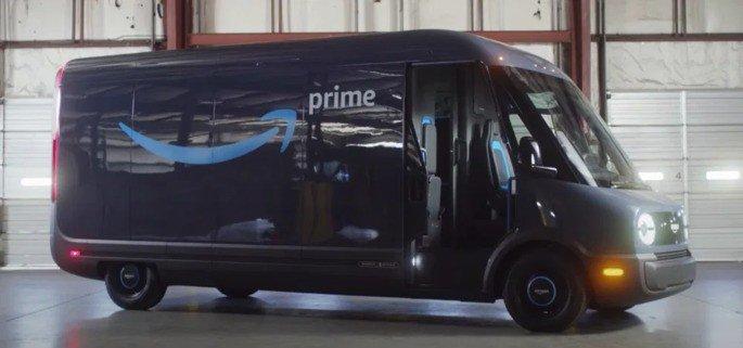 Amazon carrinha elétrica