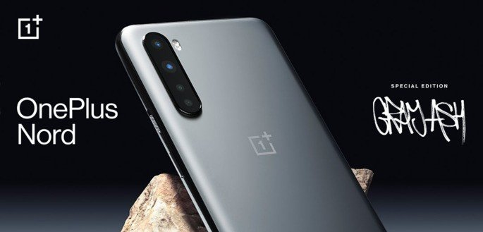 OnePlus Nord Gray Ash