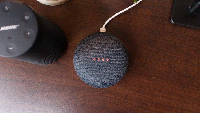 Google home Mini tecido