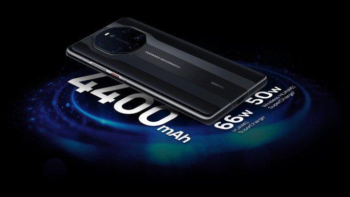 Huawei Mate 40 RS Porsche Design battery