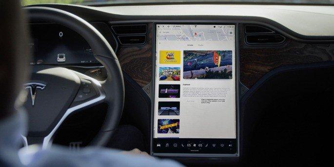 Tesla rádio FM infotainment MC2
