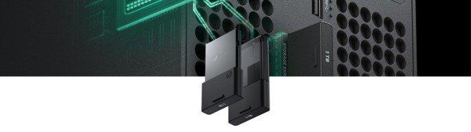 Xbox Series X expansão de memória