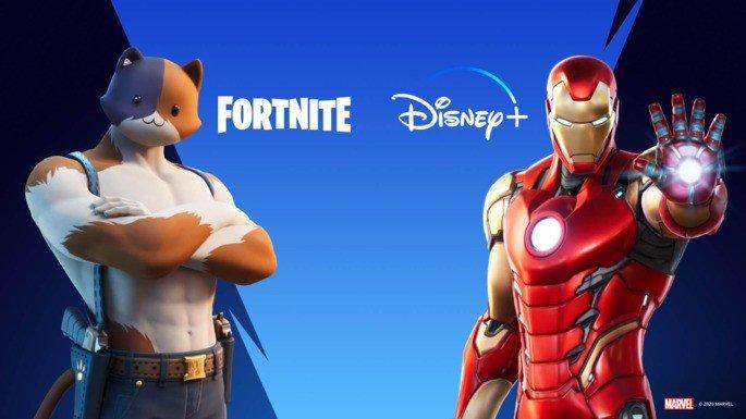 Fortnite Disney+ grátis
