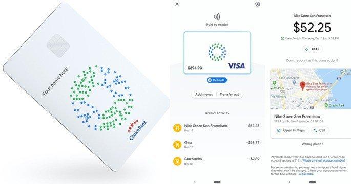 Google cartão de débito Revolut