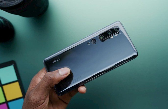 O Xiaomi Mi 10 Pro, lançado em 2020