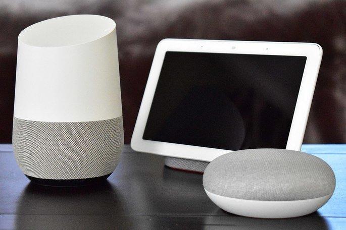 Google Home, Google Nest Mini e Google Nest Hub