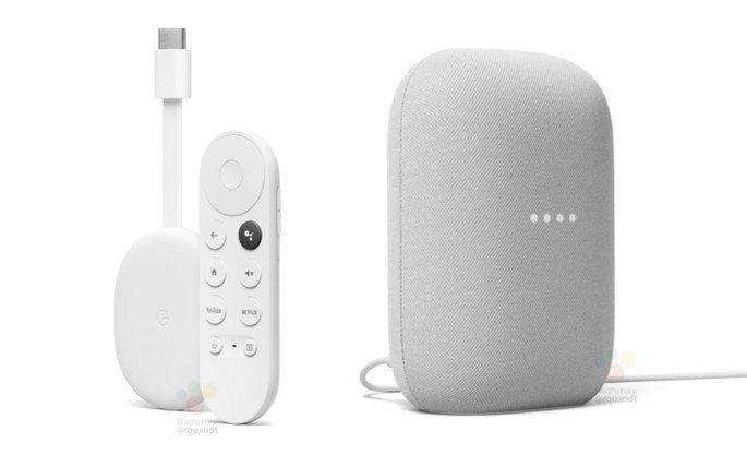 Os novos Google Chromecast e Google Nest Audio