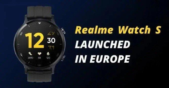 Realme Watch S europa