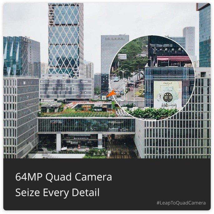 Realme 5 64MP câmara