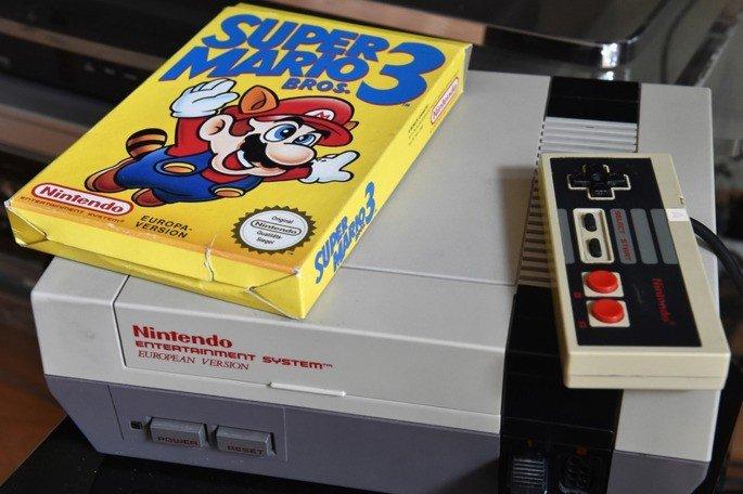 Super Mario Bros 3 NES comum