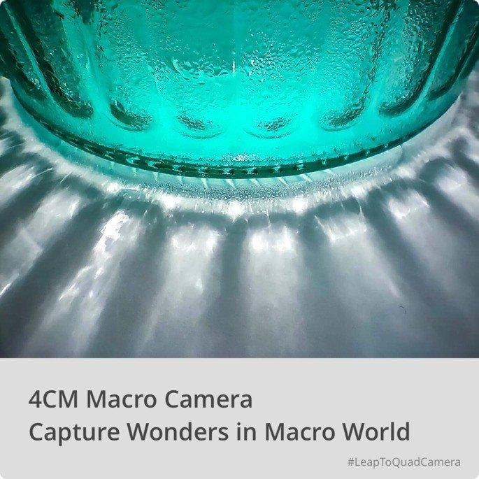 Realme 5 4cm macro câmara