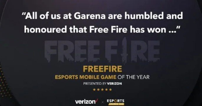 Garena Free Fire jogo mobile do ano 2020