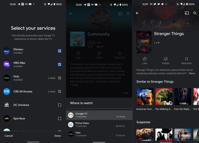 Google TV Netflix