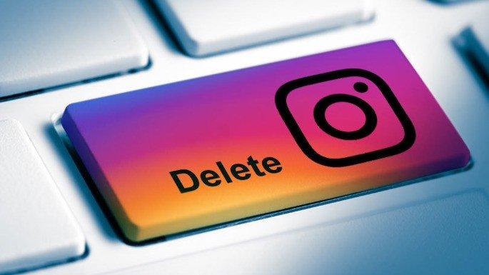 Apaga a tua conta do Instagram