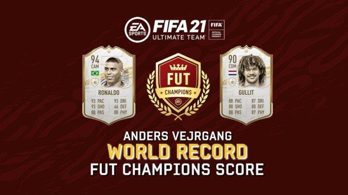 FIFA 21 Ultimate Team recorde do mundo