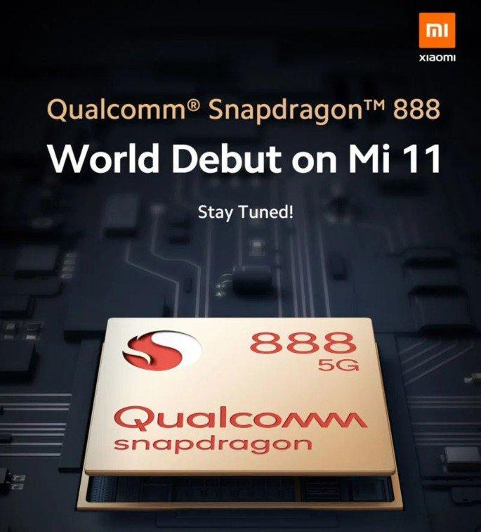 Xiaomi Mi 11 Qualcomm Snapdragon 888