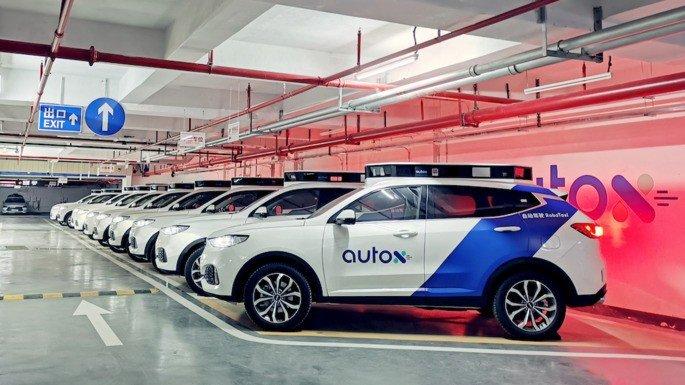 AutoX carros autónomos Tesla
