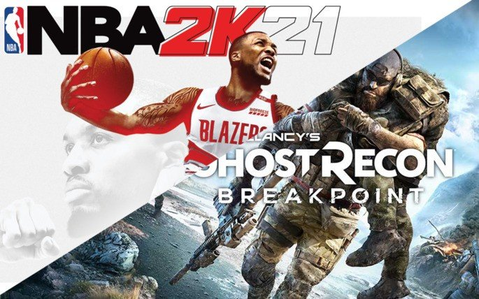 NBA2K21 GhostRecon Google Stadia