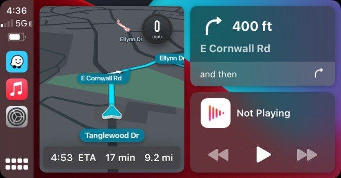 Waze Apple CarPlay