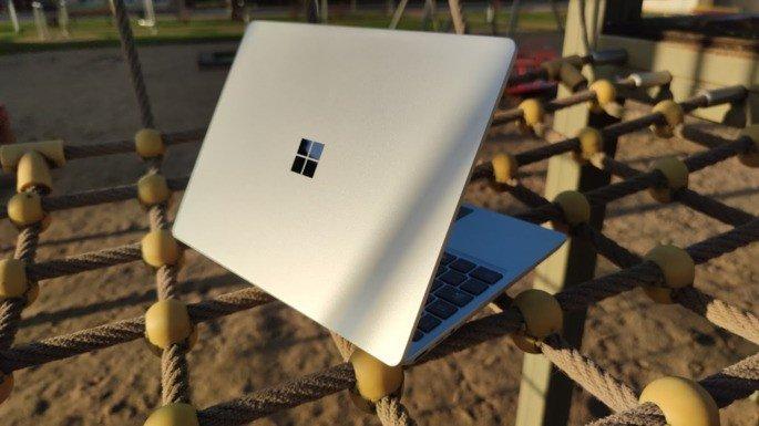 Microsoft Surface Laptop Go design