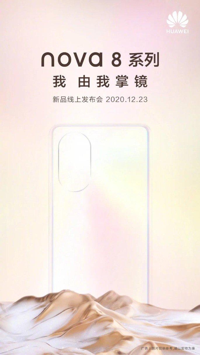 Huawei Nova 8 apresentação oficial