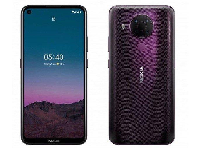 Nokia 5.4 android gama-média