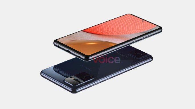 Samsung Galaxy A72 5G Design
