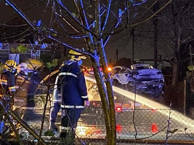acidente vitima mortal Tesla Model X
