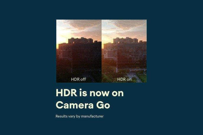 Google Câmara Go HDR