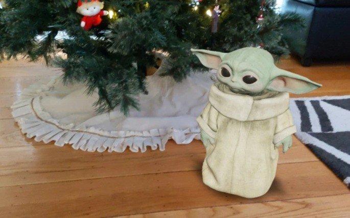 Baby Yoda Google realidade aumentada
