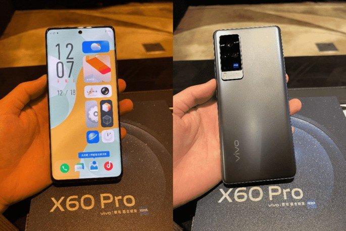 Vivo X60 Pro design