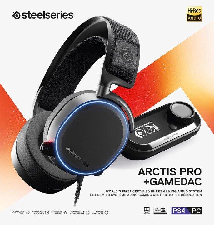 Steelseries Arctis Pro Gamedac