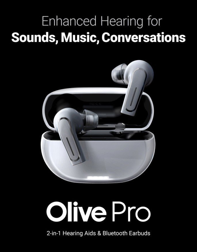 Olive Pro earbuds TWS