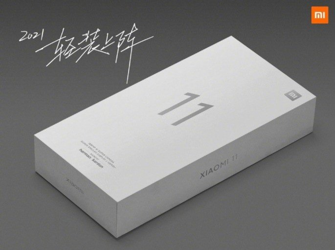 Xiaomi Mi 11 caixa oficial