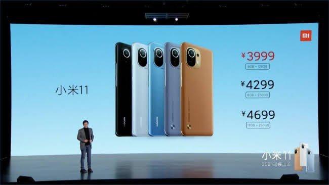 Xiaomi Mi 11 preços