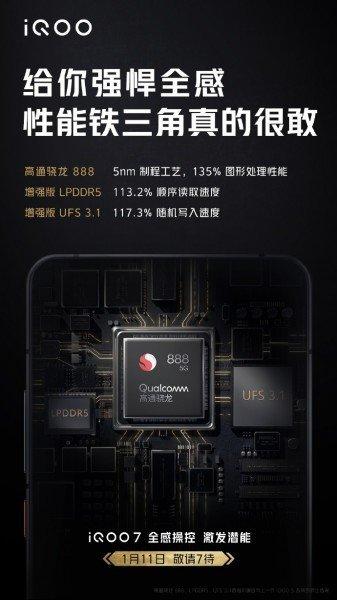 iQOO 7 5G especificações
