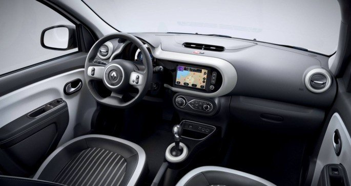 Renault TWINGO Electric interior