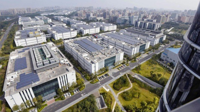 Fábrica Huawei Brasil