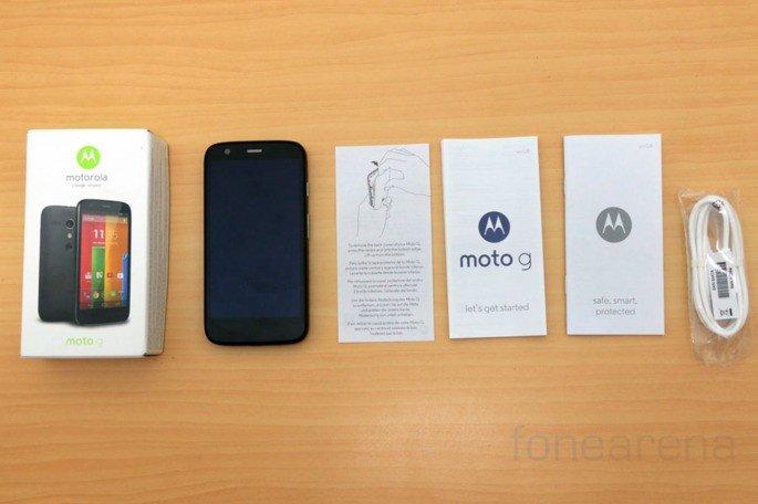 Motorola Moto G 2013 sem carregador