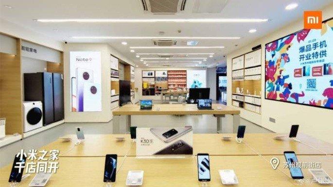 Xiaomi lojas