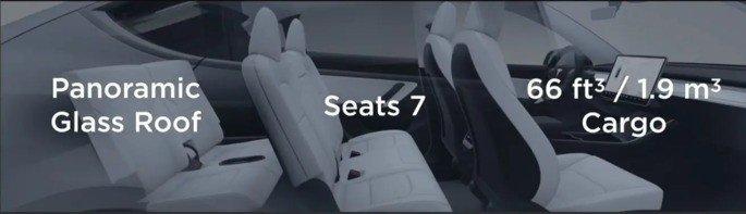 Tesla Model Y 7 lugares