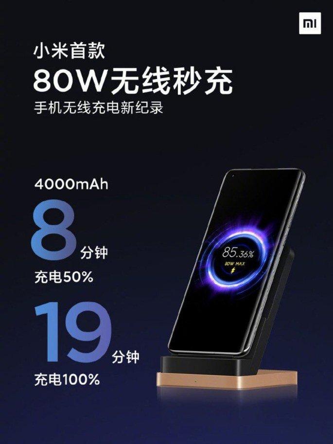 Xiaomi Mi 11 Pro carregamento